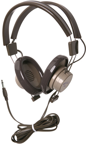 610-44 Headphones - Mono with 3.5mm Plug