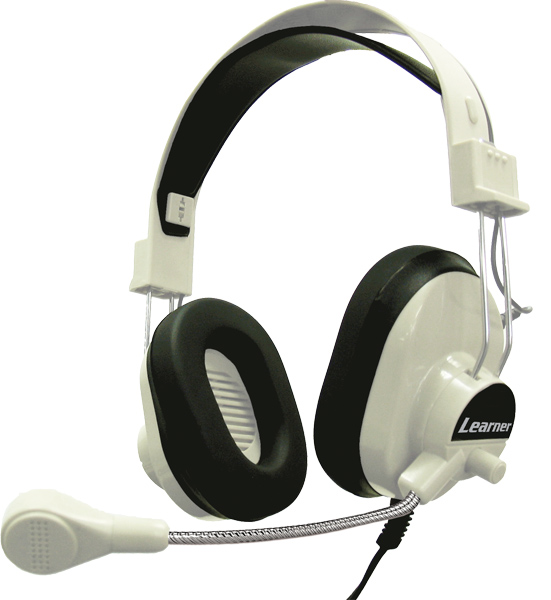 Learner LNR66USB Headphones with USB Plug