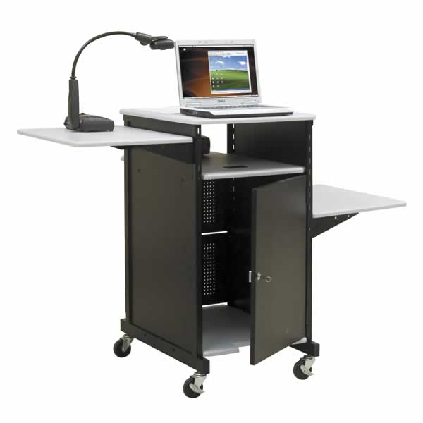 Balt 27517 Xtra Wide Projector Cart with Security Cabinet