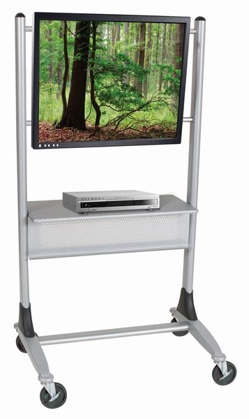 Mobile Platinum Flat Panel TV Stand
