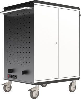 Balt 27698A Tablet Security Charge Cart 32-Slot (Assembled)