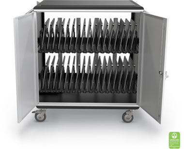 32 Slot Chromebook/Tablet Charging Cart