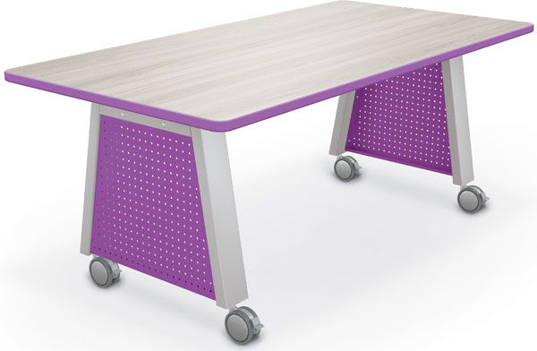 "Balt Compass Makerspace Table with Laminate Top - 72""W x 36""D x 29""H"