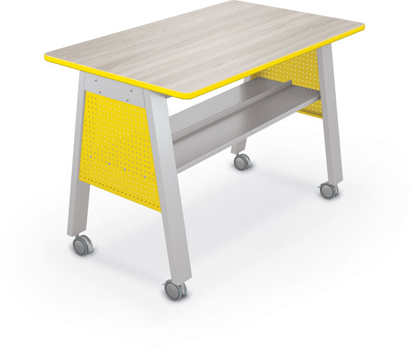 "Balt Compass Makerspace Table with Laminate Top - 60""W x 36""D x 42""H"