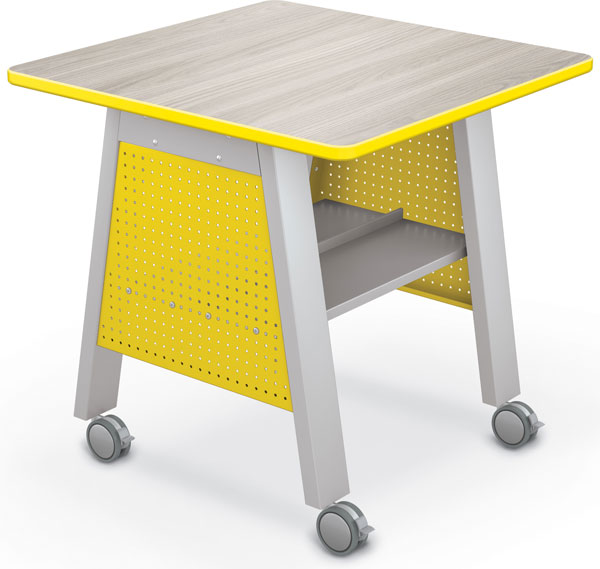 "Balt Compass Makerspace Table with Laminate Top - 36""W x 36""D x 36""H"
