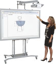 iTeach 2 Stand + Whiteboard Bundle (with Short Throw Arm 16