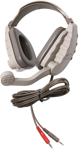 Califone DS-4V Discovery Classroom Headset - Dual 3.5mm Plug for Computers with Dual Jacks