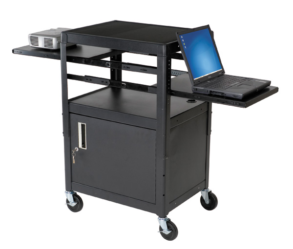 Balt 89875 Dual Adjustable Laptop Cart