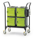 Copernicus Tech Tub 2 Cart with (4) Tubs