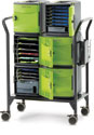 Copernicus FTT732 32-Slot Tech Tub2 Cart (includes 6 Tech Tubs)