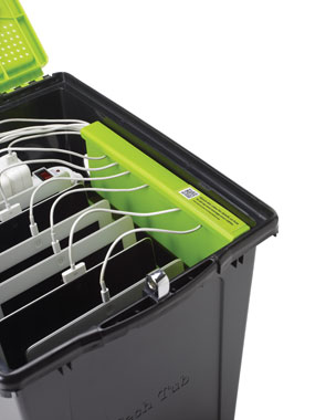 Copernicus TEC600 Tech Tub 6-Tablet Portable Locking Charging Tub