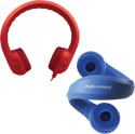 Flex-Phones Foam Headphones