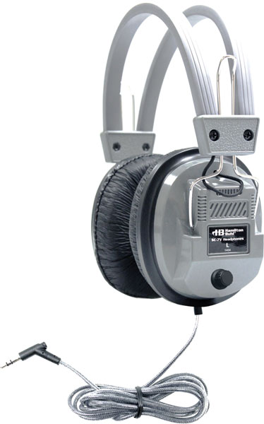 Hamilton SC-7V Classroom Headphones with Volume Control