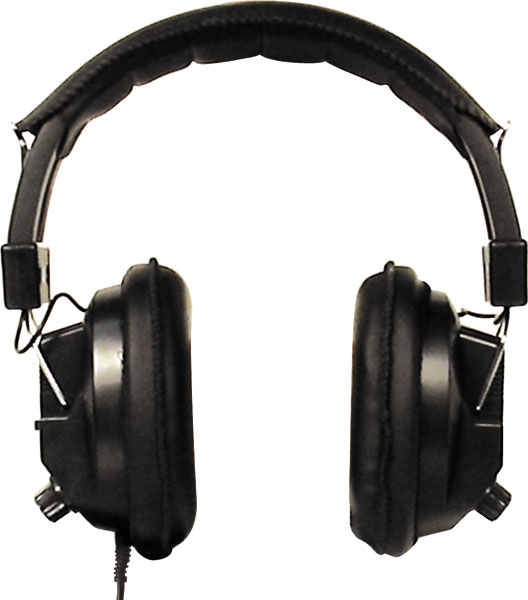 Labsonic LS3000 Classic School Headphones - Stereo to Mono Switchable