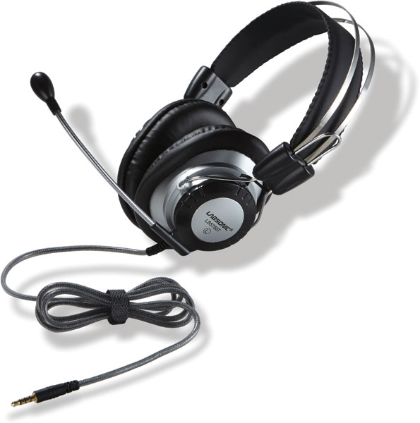 Labsonic LS5750T School Headset - Single Plug for Tablets & Laptops with Single Jacks