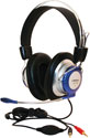 LS5750-M Labsonic Tablet-Ready Deluxe Stereo Headset with Metal Boom Mic
