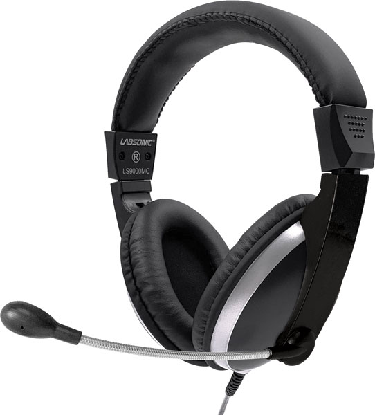 Labsonic LS9000MT School Headset - Single Plug for Tablets & Laptops with Single Jacks
