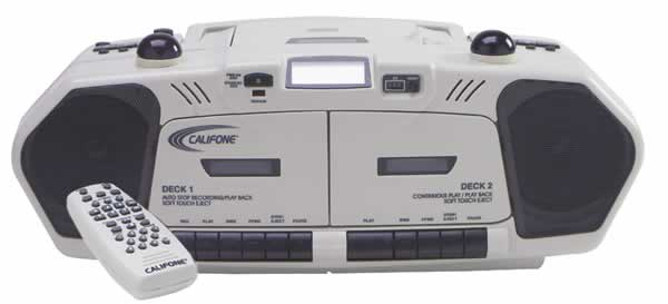 Califone 2395IR Wireless Infrared BoomBox