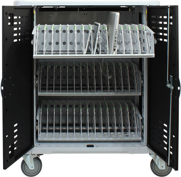 42 Slot Intelligent Laptop Charging Cart