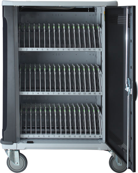 48 Slot Intelligent Laptop Charge & Sync Cart