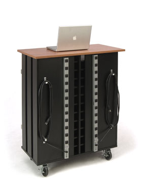 24 Slot Laptop and Tablet Mobile Charging Cart