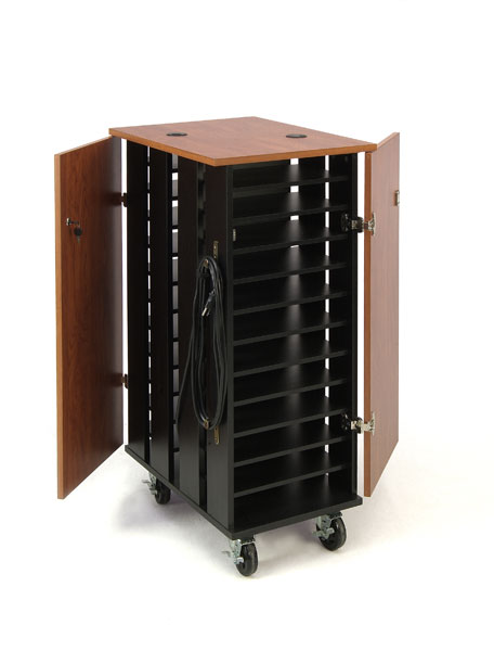 Tablet Charging and Storage Cart - 24 Slot