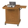 Economical Lectern Podium / Projector Cart