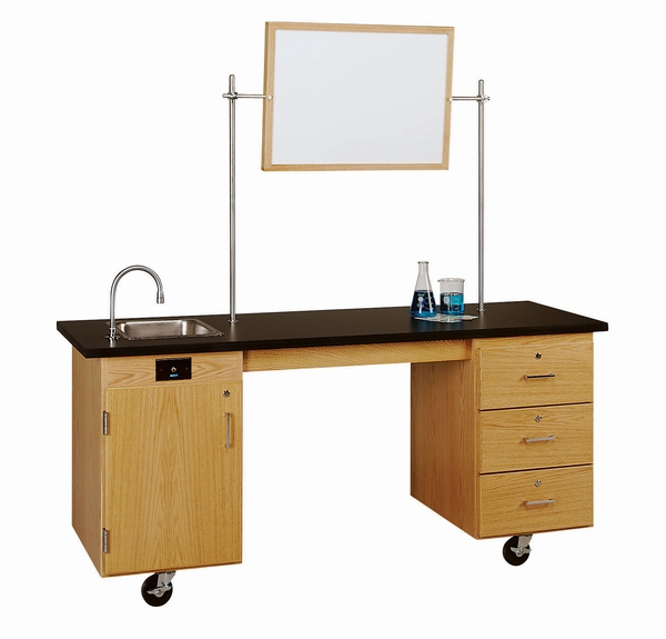 ADA Mobile Workstation by Diversified Woodcrafts