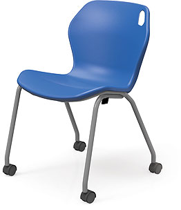 "Smith System In2it 18"" Mobile Stack Chair"