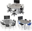 Interchange Engage Collaborative Student Tables by Smith System